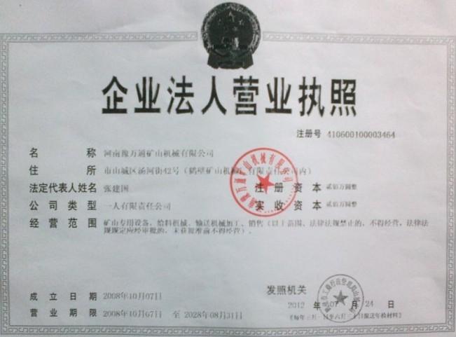 经营地址:河南省鹤壁市山城区汤河街