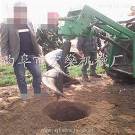 四轮车钻坑机 植树挖坑机 便携式挖坑机