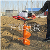 手提挖坑机 汽油地钻机 便携式果园钻眼施肥机