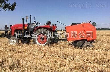 移动式麦秸打捆机 干草打捆机