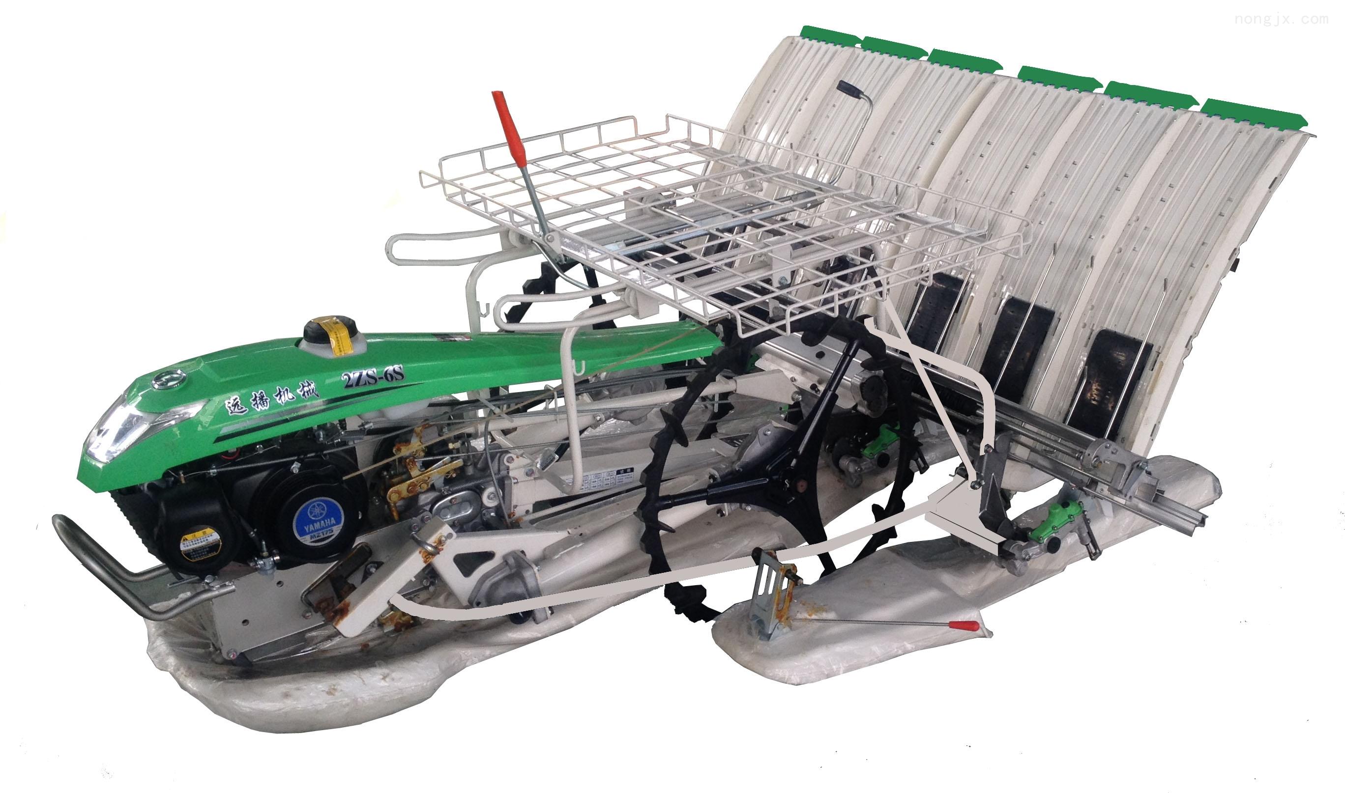 耐用2ZS-6S手扶式水稻宽窄行插秧机厂家