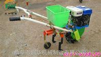 汽油玉米播种机 汽油耘耕播种机 双筒手扶精播机