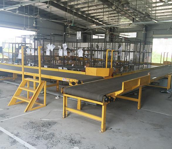 板链提升机 物流包装皮带输送机 装卸皮带输送机