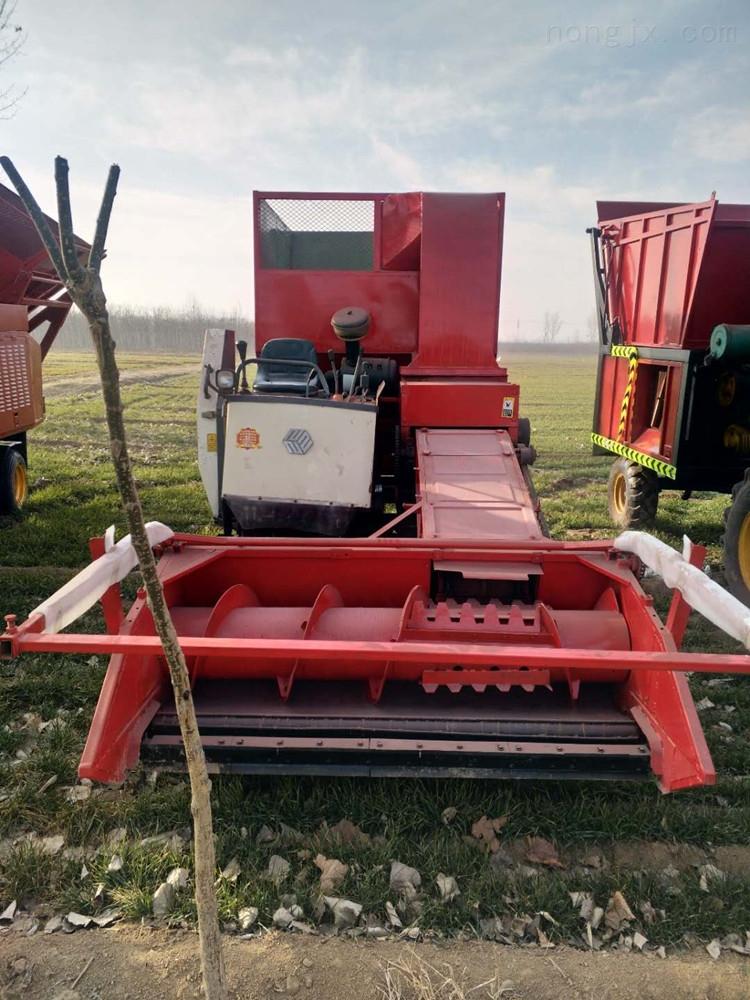 供应高产量自走式秸秆青储机 履带式收割机